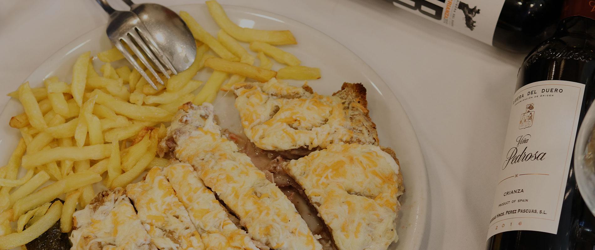 Cachopo asturiano de Restaurante El Oviedo