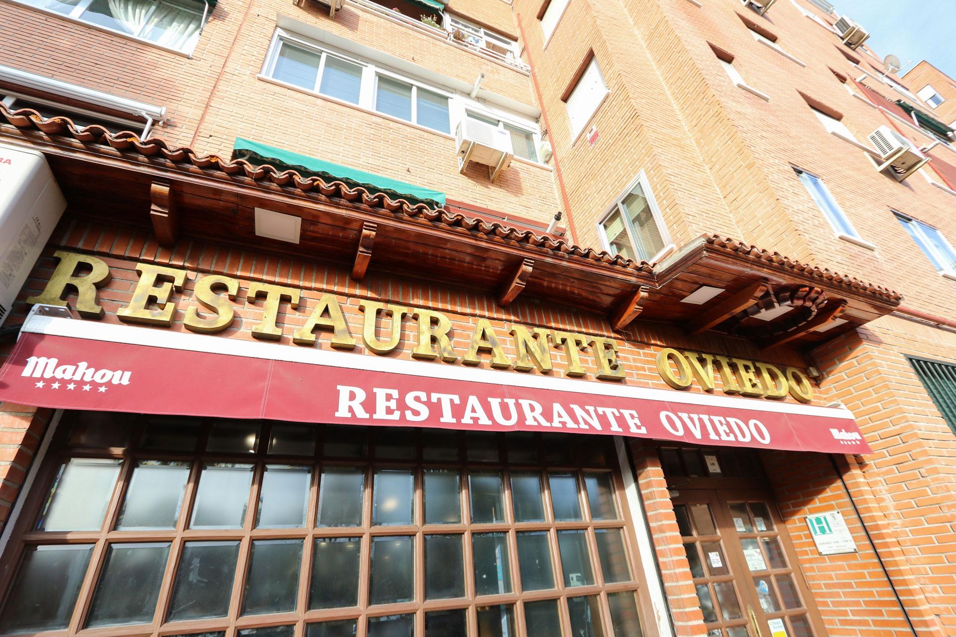Entrada del Restaurante El Oviedo