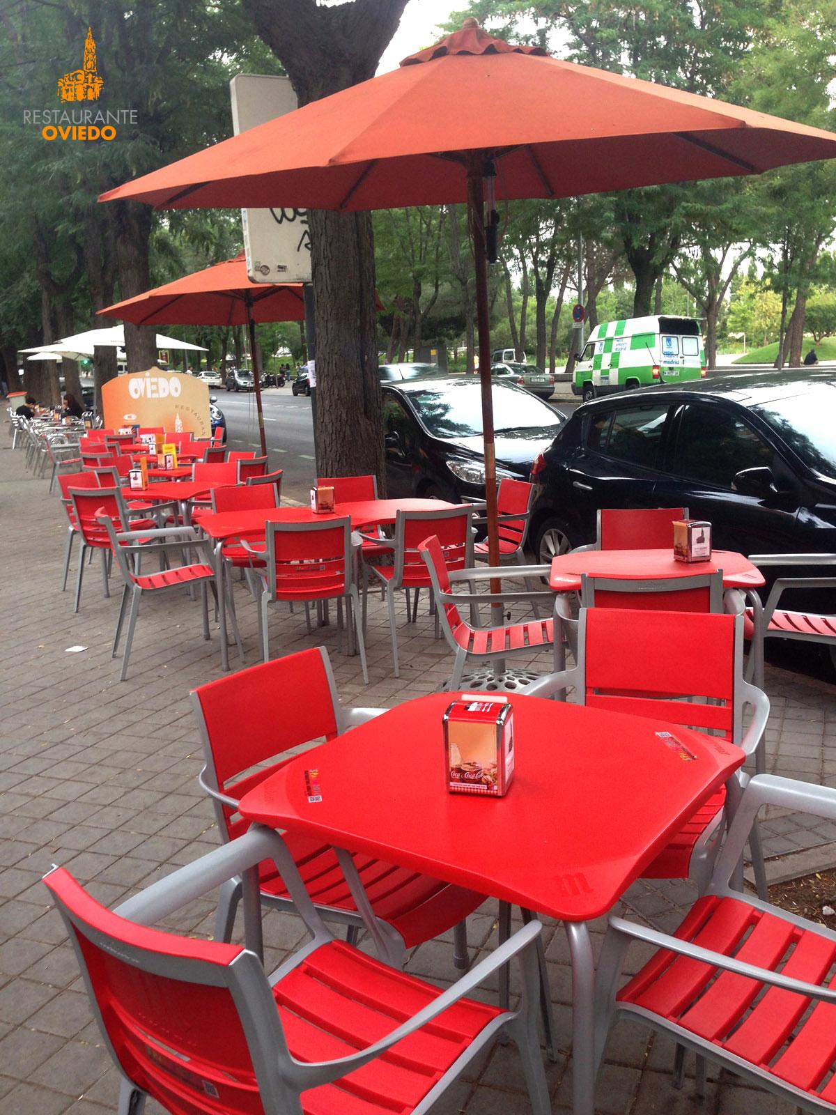Terraza Restaurante El Oviedo