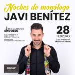 Noches de monólogo en Restaurante Oviedo. Javi Benítez